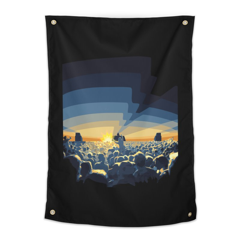 Dawn Club Home Tapestry by lightclub's Artist Shop
