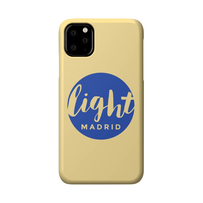 Blue Logo Accessories Phone Case by Light Madrid Gear