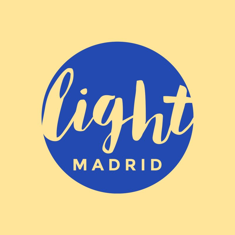 Blue Logo by Light Madrid Gear