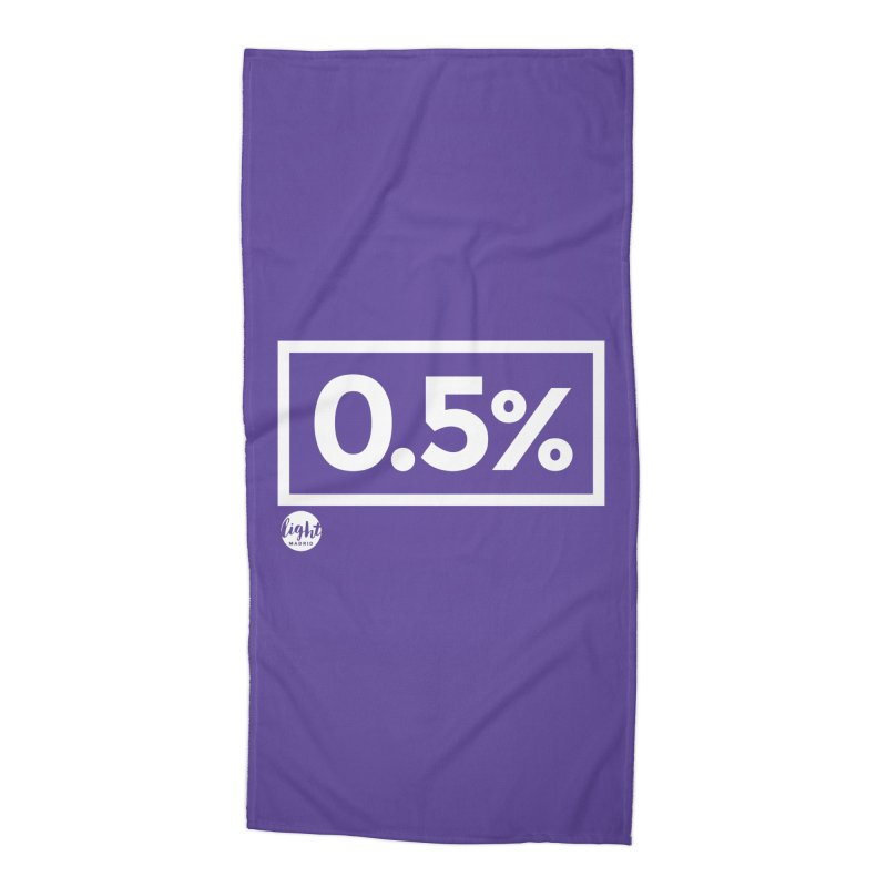 Only 0.5% Truly Know Jesus Accessories Beach Towel by Light Madrid Gear