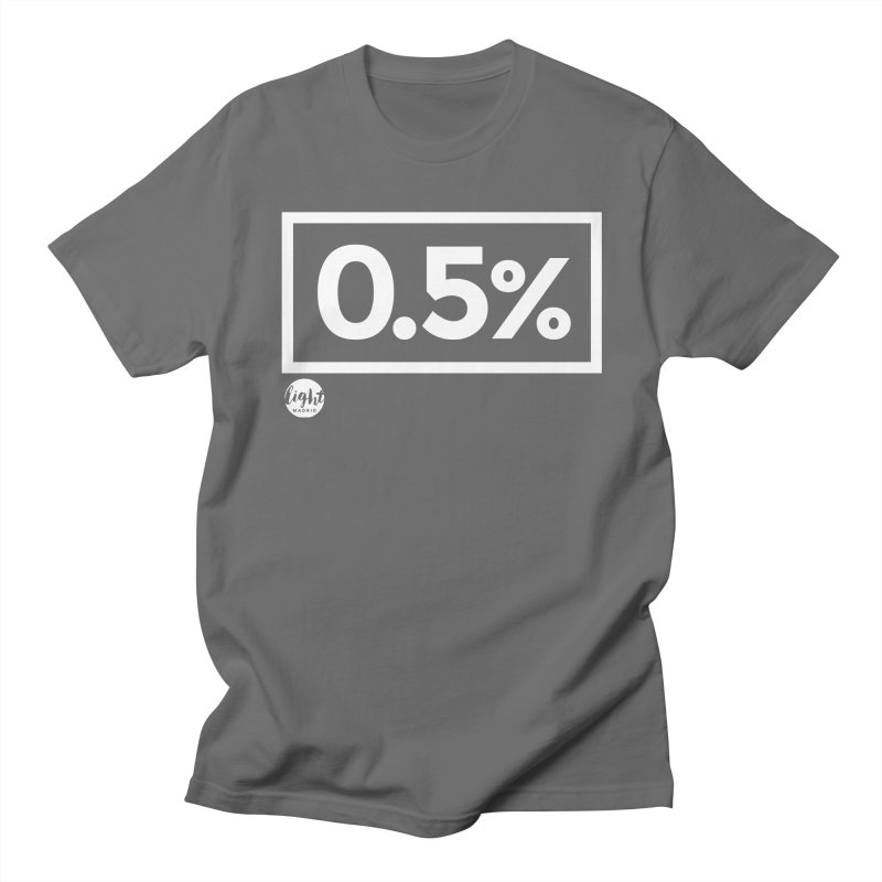 Only 0.5% Truly Know Jesus Men's T-Shirt by Light Madrid Gear