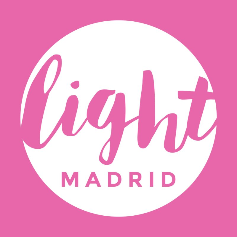 White Logo by Light Madrid Gear