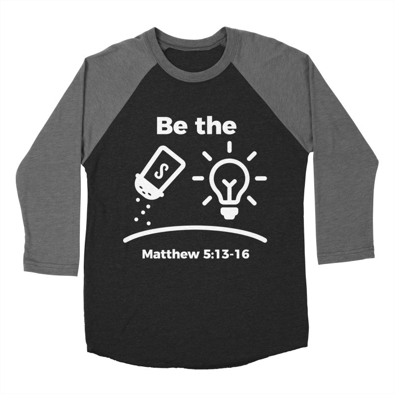 Be the Salt and Light - White Women's Longsleeve T-Shirt by Light of the World Tees