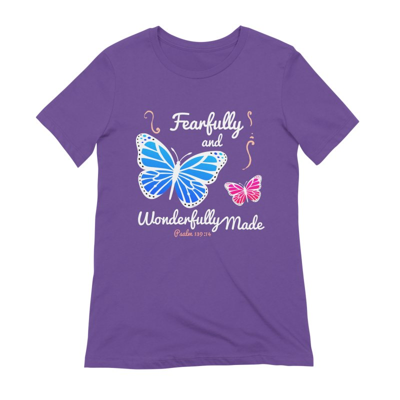 Fearfully and Wonderfully Made Women's Extra Soft T-Shirt by Light of the World Tees
