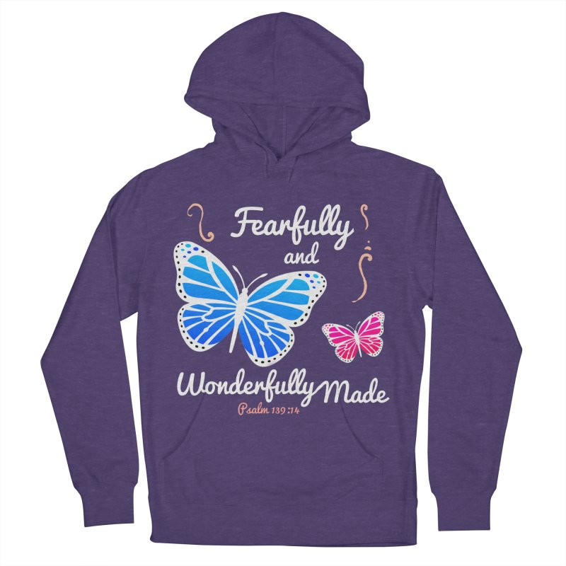 Fearfully and Wonderfully Made Women's French Terry Pullover Hoody by Light of the World Tees