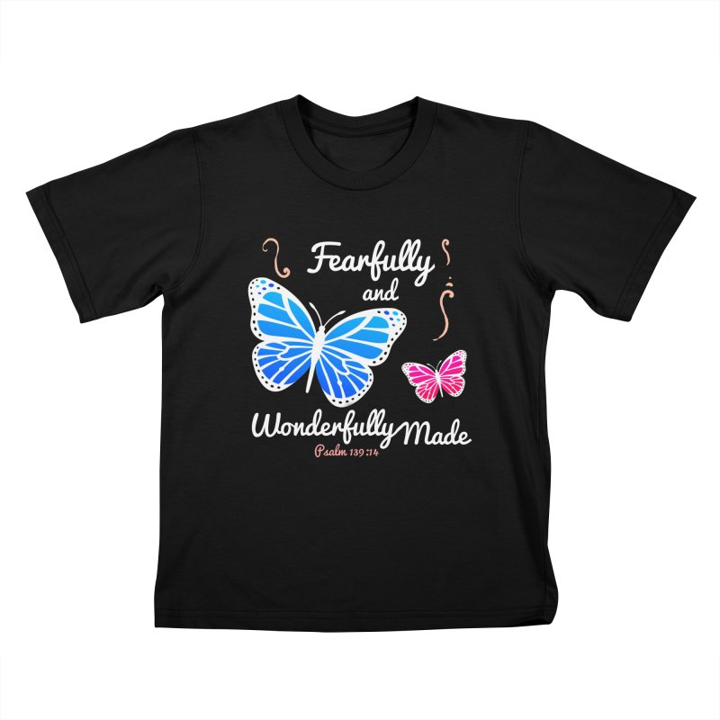 Fearfully and Wonderfully Made Kids T-Shirt by Light of the World Tees