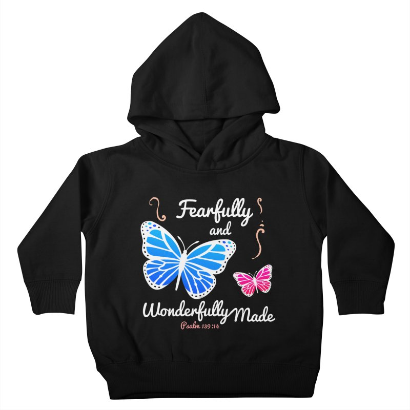 Fearfully and Wonderfully Made Kids Toddler Pullover Hoody by Light of the World Tees