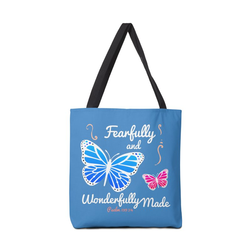 Fearfully and Wonderfully Made Accessories Tote Bag Bag by Light of the World Tees