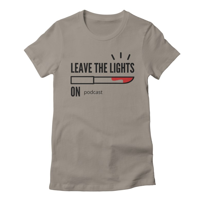 Podcast Logo Women's T-Shirt by Leave The Lights On Podcast