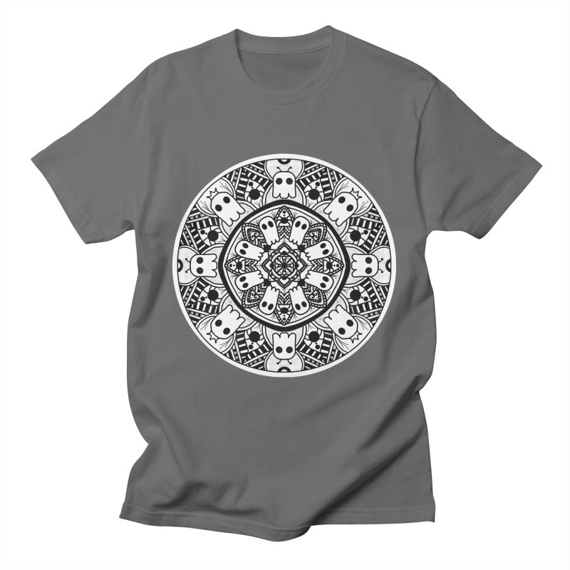 Ghost Mandala Men's T-Shirt by Leave The Lights On Podcast