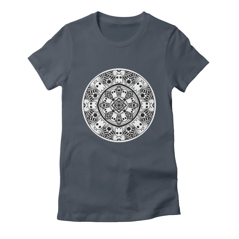 Ghost Mandala Women's T-Shirt by Leave The Lights On Podcast