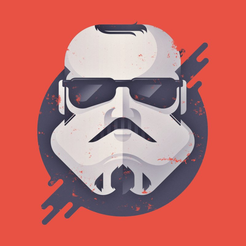 Nerd Trooper Men's T-Shirt by Light Spectrum's Artist Shop