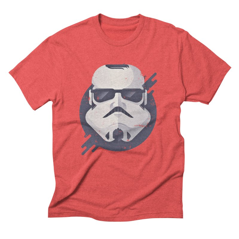 Nerd Trooper in Men's Triblend T-Shirt Chili Red by Light Spectrum's Artist Shop