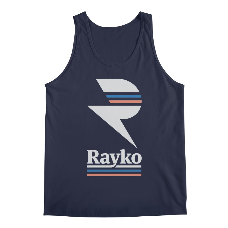 Rayko V2 in Men's Regular Tank Navy by Light Spectrum's Artist Shop