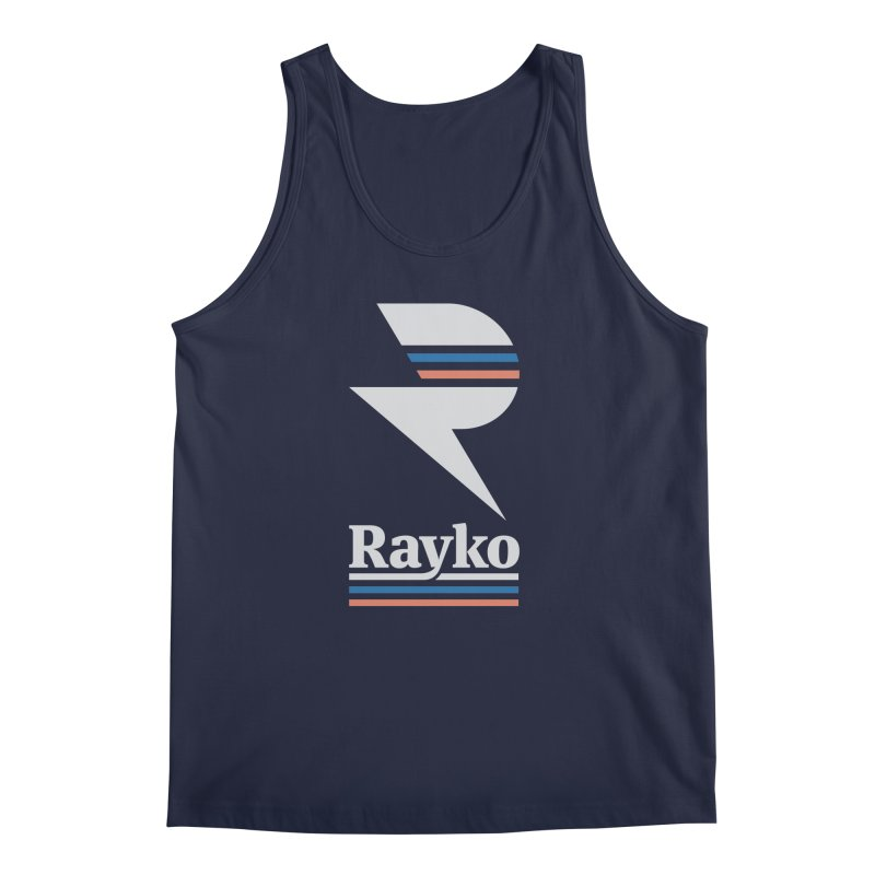 Rayko V2 in Men's Regular Tank Navy by Light Spectrum's Artist Shop