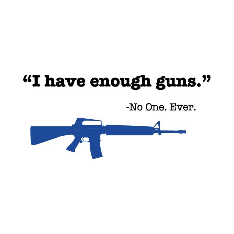 Never Enough Guns Men's T-Shirt by Like a Lady Firearms Training