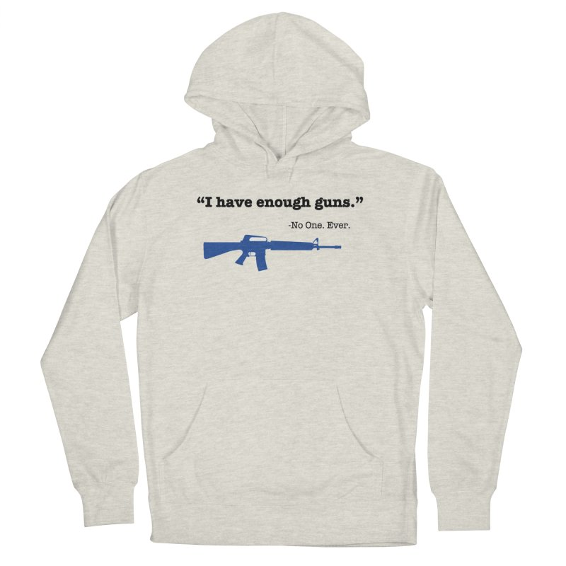 Never Enough Guns Women's French Terry Pullover Hoody by Like a Lady Firearms Training