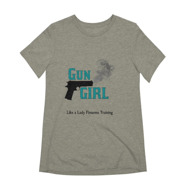 Gun Girl Women's Extra Soft T-Shirt by Like a Lady Firearms Training