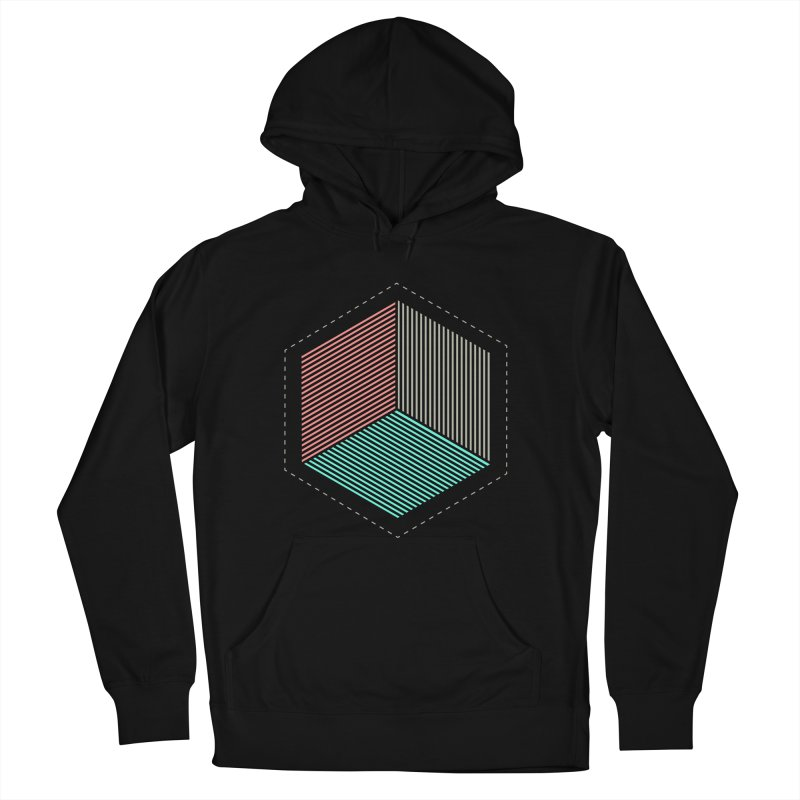 THE CUBE Men's Pullover Hoody by Likeit