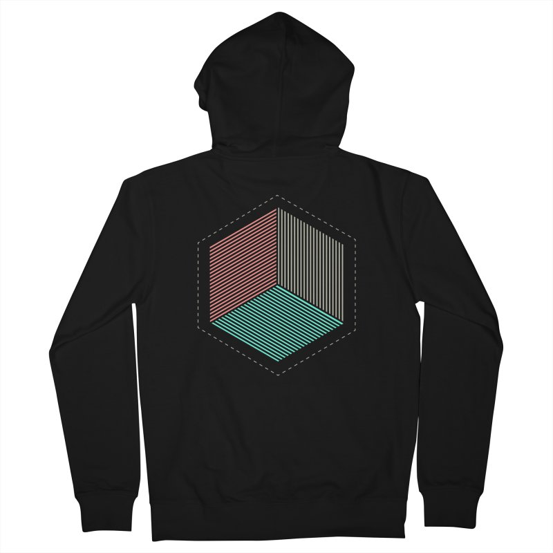 THE CUBE Men's Zip-Up Hoody by Likeit