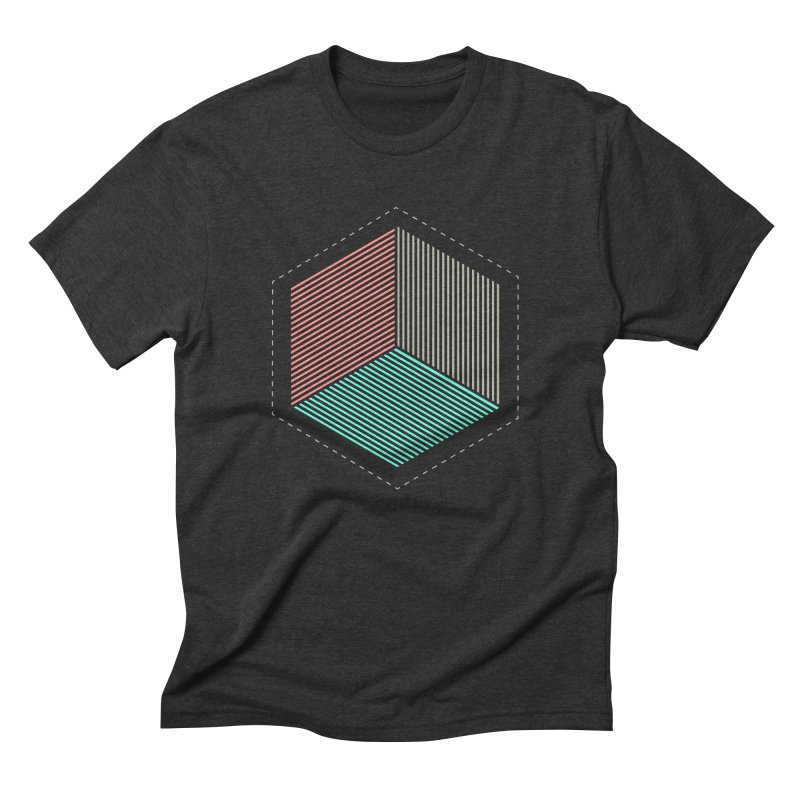 THE CUBE Men's Triblend T-Shirt by Likeit