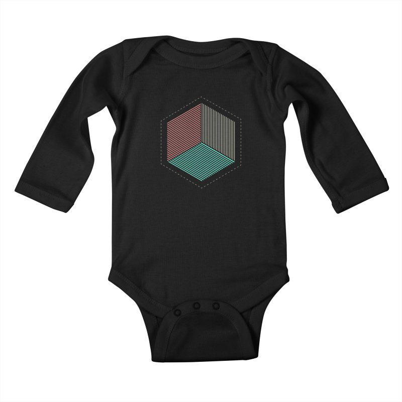 THE CUBE Kids Baby Longsleeve Bodysuit by Likeit