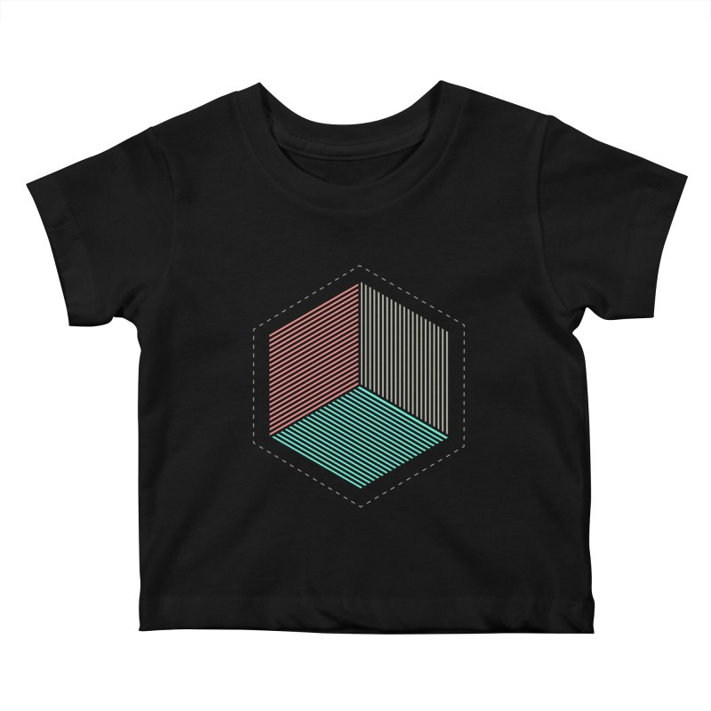 THE CUBE Kids Baby T-Shirt by Likeit