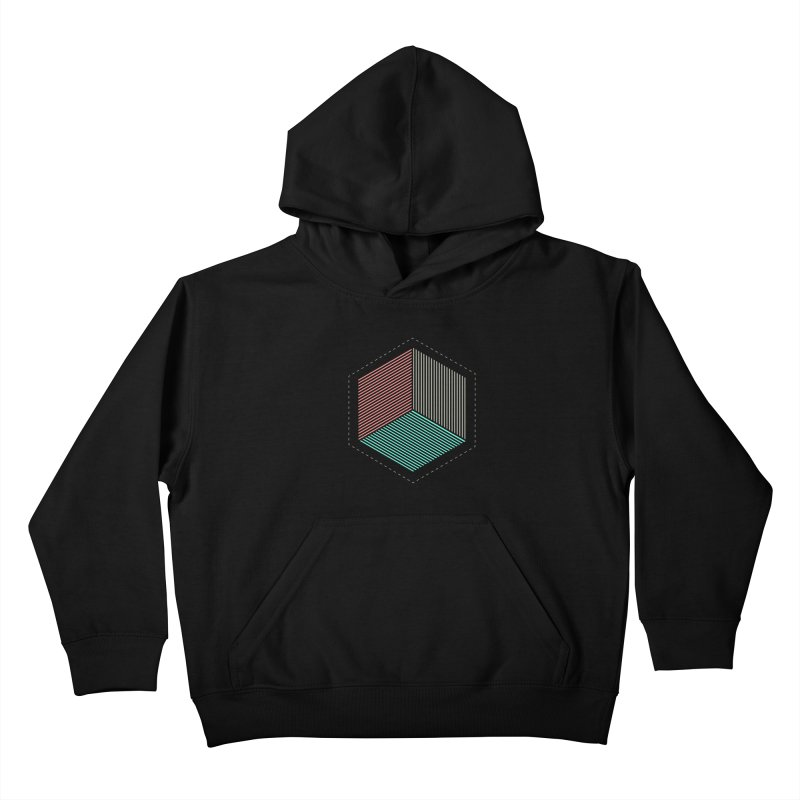 THE CUBE Kids Pullover Hoody by Likeit