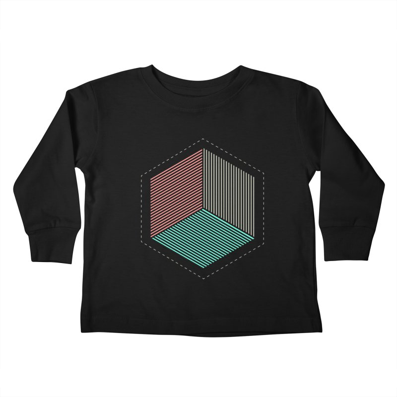 THE CUBE Kids Toddler Longsleeve T-Shirt by Likeit