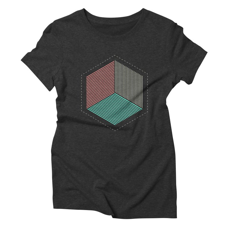 THE CUBE Women's Triblend T-shirt by Likeit
