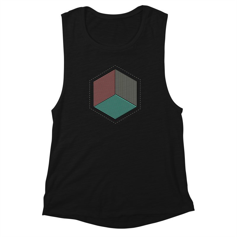 THE CUBE Women's Muscle Tank by Likeit