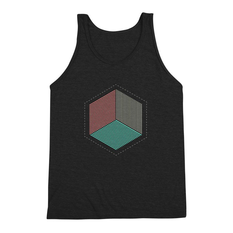 THE CUBE Men's Triblend Tank by Likeit