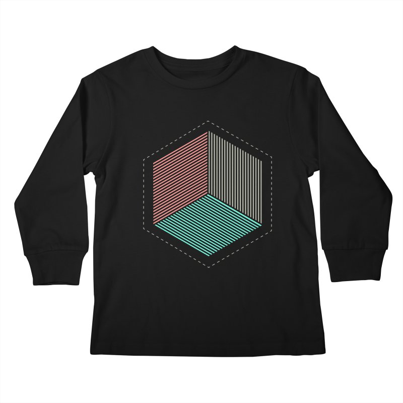 THE CUBE Kids Longsleeve T-Shirt by Likeit