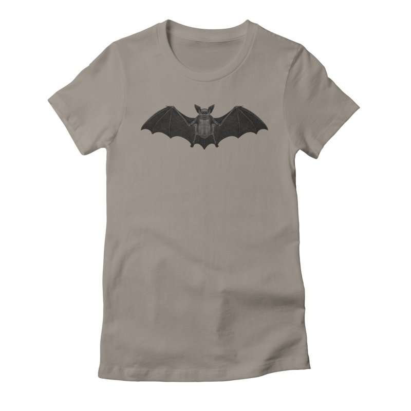 BAT Women's Fitted T-Shirt by likeshirts's Artist Shop