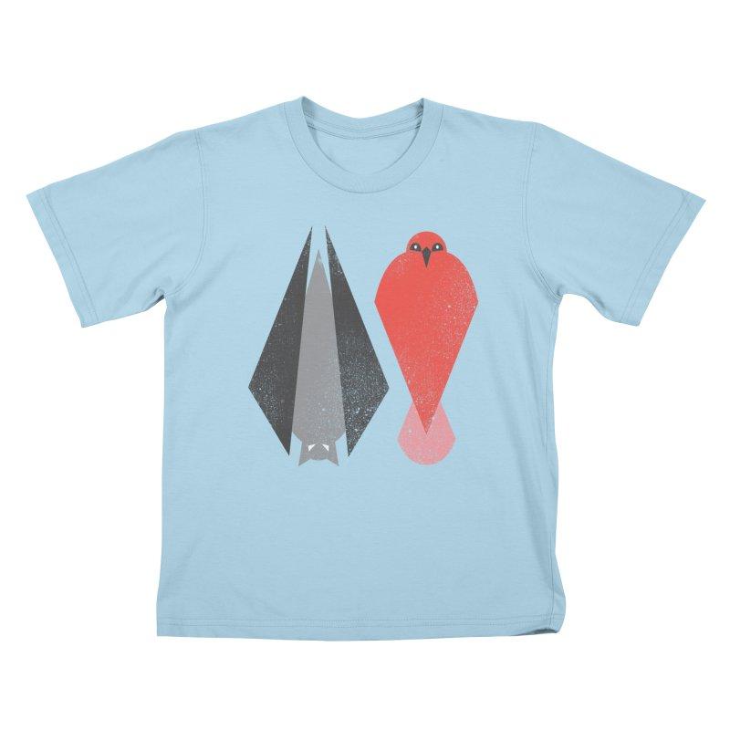 BAT & BIRD Kids T-shirt by likeshirts's Artist Shop