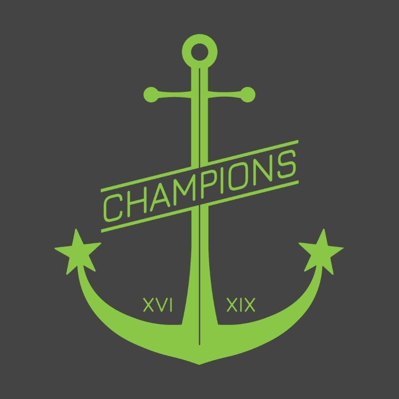 Anchor of Champions Men's T-Shirt by LikkitP
