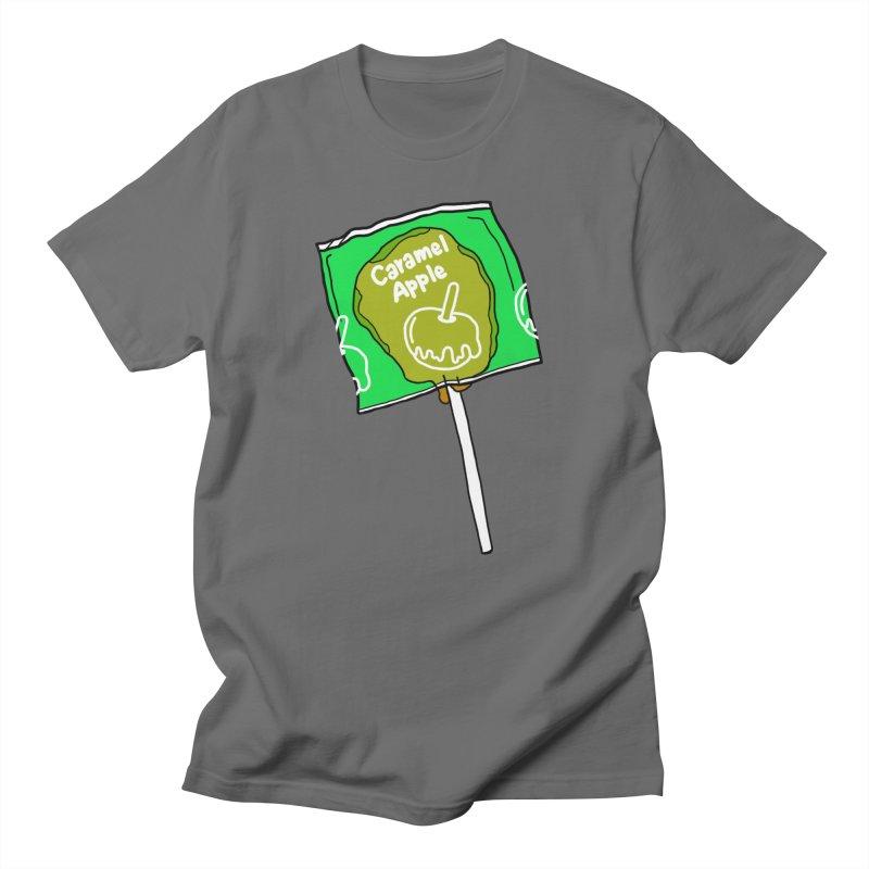 Caramel Apple Pop - Lil Boat Boutique Men's T-Shirt by Lil Boat Boutique's Artist Shop