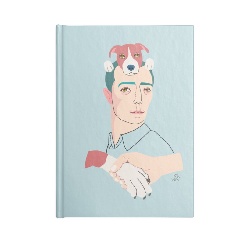 Buster and Luke Accessories Notebook by lilidiprima's Artist Shop