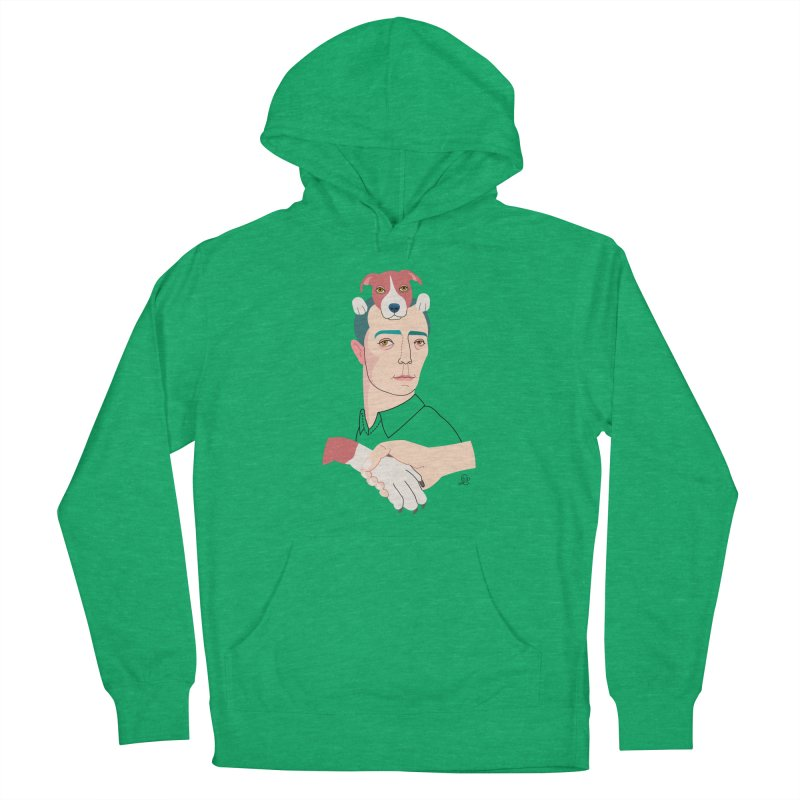 Buster and Luke Women's French Terry Pullover Hoody by lilidiprima's Artist Shop