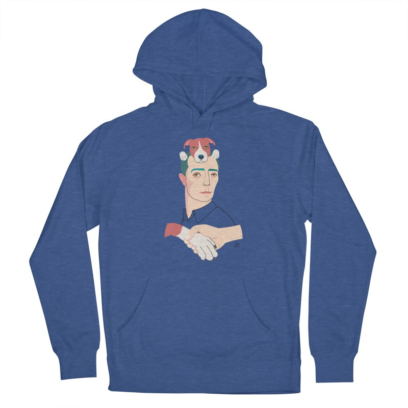 Buster and Luke Men's French Terry Pullover Hoody by lilidiprima's Artist Shop