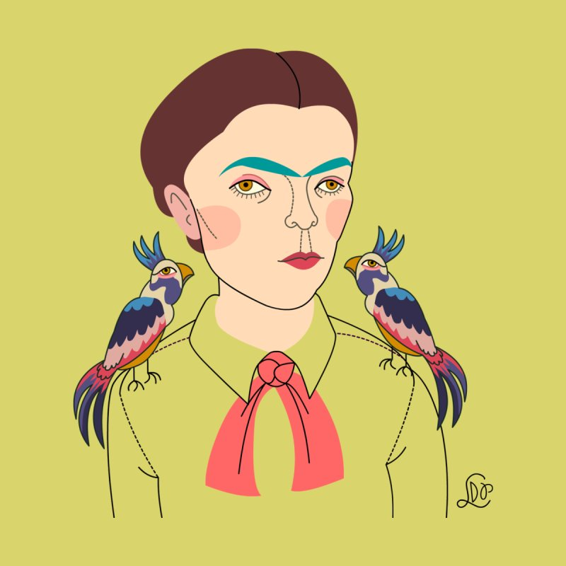 Young Frida and Bonito by lilidiprima's Artist Shop