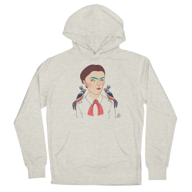 Young Frida and Bonito Women's French Terry Pullover Hoody by lilidiprima's Artist Shop