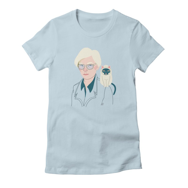 Andy and Sam Women's Fitted T-Shirt by lilidiprima's Artist Shop