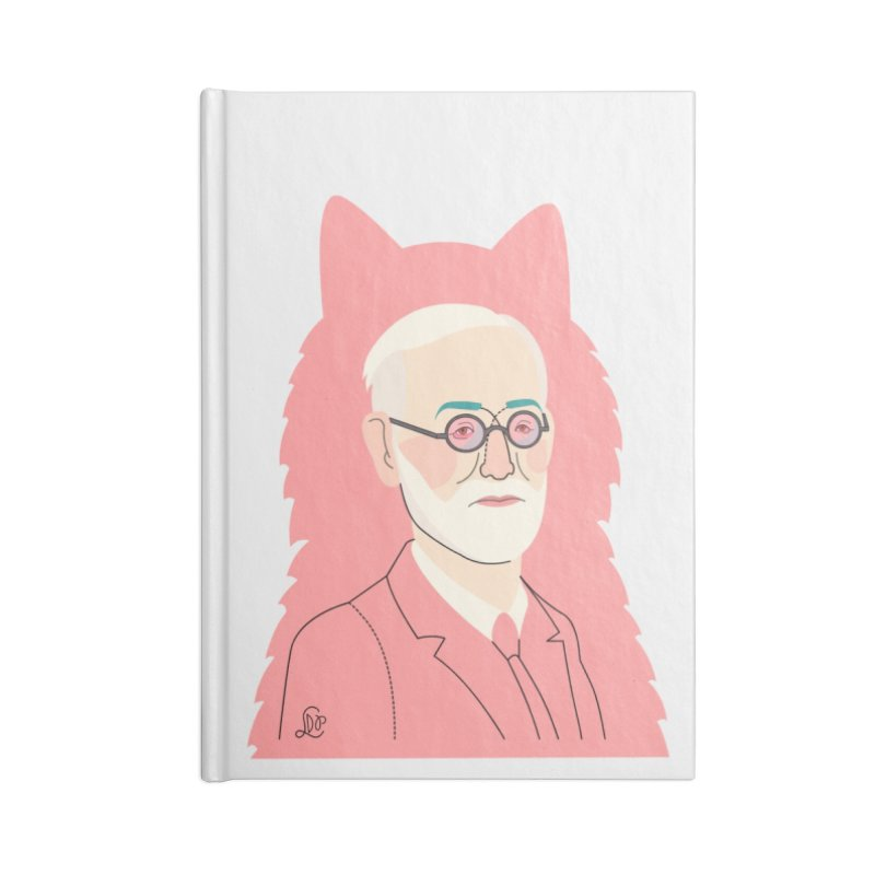 Sigmund and the dogs Accessories Notebook by lilidiprima's Artist Shop