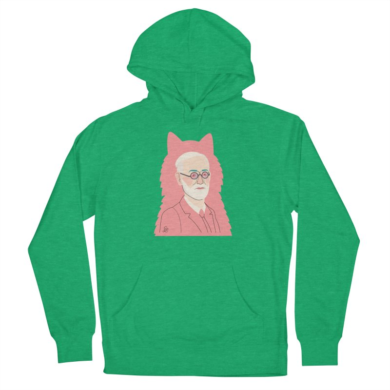 Sigmund and the dogs Men's French Terry Pullover Hoody by lilidiprima's Artist Shop