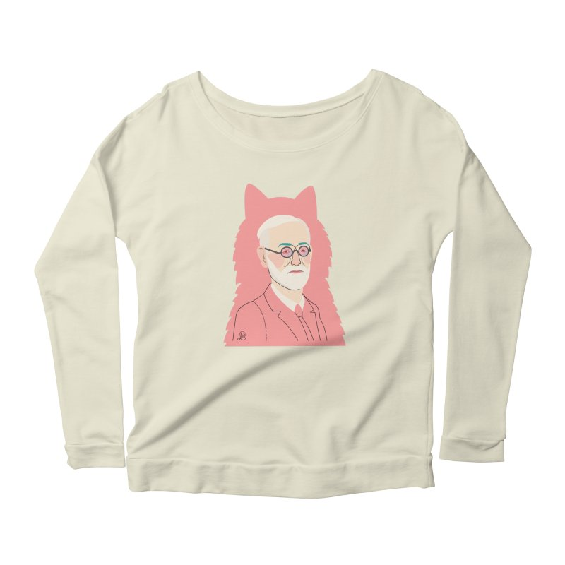 Sigmund and the dogs Women's Scoop Neck Longsleeve T-Shirt by lilidiprima's Artist Shop
