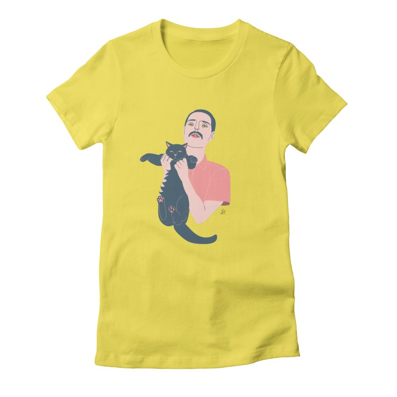 Freddie and Delilah Women's Fitted T-Shirt by lilidiprima's Artist Shop