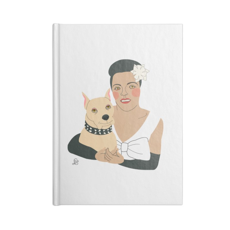 Billie and Mister Accessories Notebook by lilidiprima's Artist Shop
