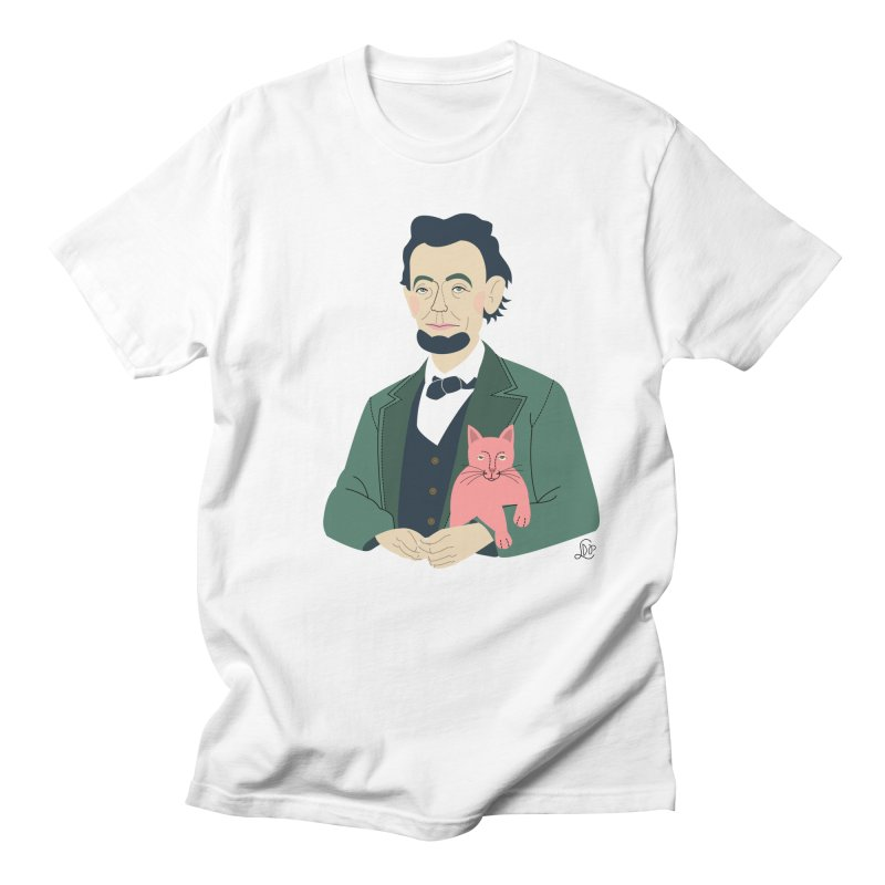 Abraham and Tabby Women's Regular Unisex T-Shirt by lilidiprima's Artist Shop