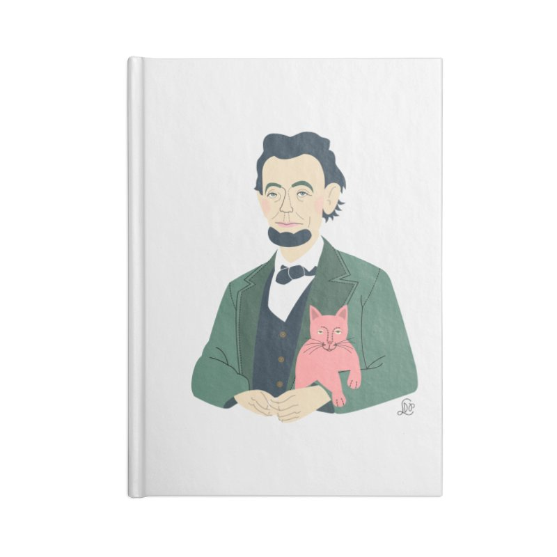 Abraham and Tabby Accessories Notebook by lilidiprima's Artist Shop